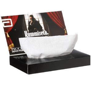 Greeting Card Tissue Box