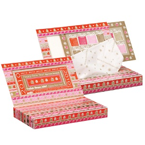 Greeting Card Photo Tissue Box