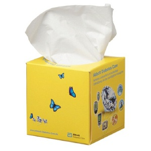 Real Cube 50 Tissue Box