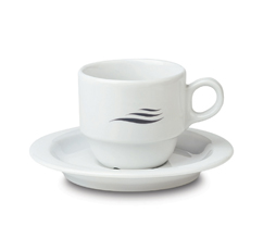 Campaign Cup + Saucer Roma