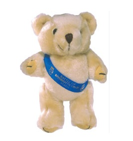 5 inch Honey Bear & Sash