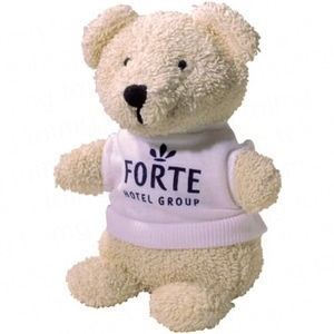 5 inch Beanie Bear with T-shirt
