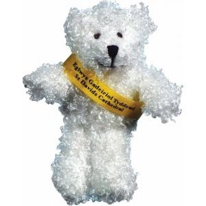 5 inch Snowy Bear with T-shirt