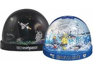 Fully Customised Snow or Glitter Shaker Magnet