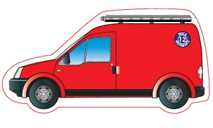 Van Shaped Magnet