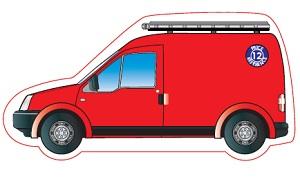 Van Shaped Magnet