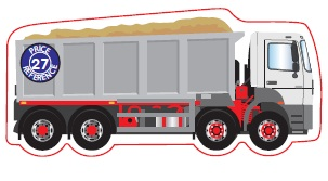 Lorry Tipper Shaped Magnet