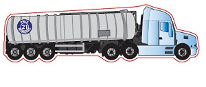 Truck Shaped Magnet