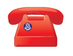Telephone Shaped Magnets