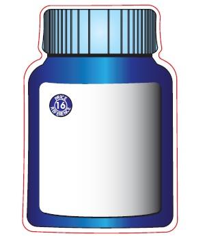 Pill Bottle Shaped Magnets