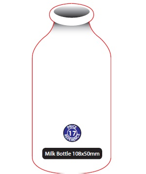 Milk Bottle Shaped Magnet