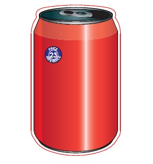 Drink Can Shaped Magnet