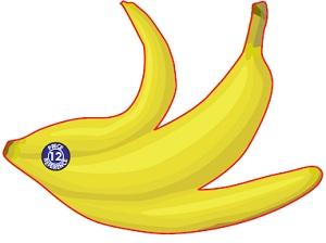 Banana Skin Shaped Magnet