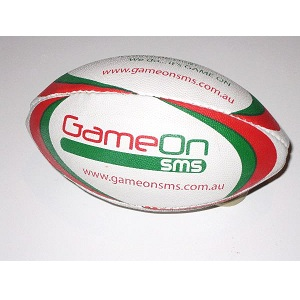 Rubberised Rugby Balls Stitched - Mini