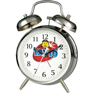 Double Bell Alarm Clock (Printed Full Colour)