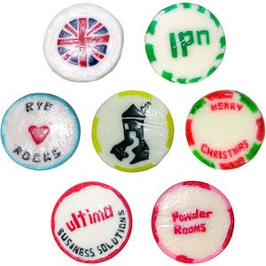 Promotional Rock Sweets (Individually wrapped)