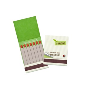 Recycled Matchbook