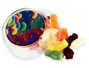 Jelly Babies Round Pot