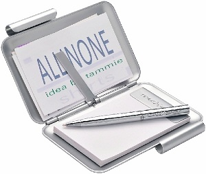 St. Nazaire Notebook Business Card Holder