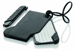 Luggage tag incl pen