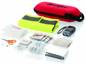 47 Pcs Car First Aid Kit