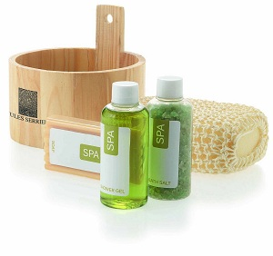 Spa bath set