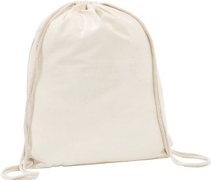 Westbrook' 4.5oz Cotton Drawstring Bag
