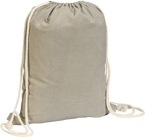 Eastry' 4.5oz Cotton Drawstring Bag.