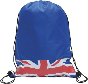 Cliffe' Union Jack Drawstring Backsack