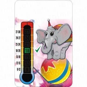 Elephant Nursery Thermometer