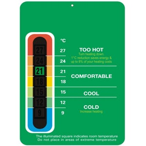 Energy Saving Room Thermometer