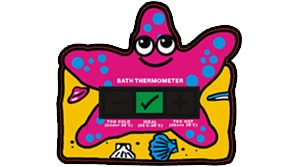 Starfish Bath Thermometer