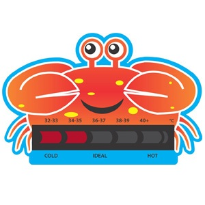 Crab Bath Thermometer