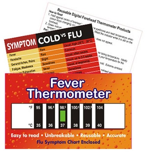Fever & Flu Symptom Pack (Adult)