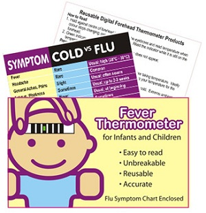 Fever & Flu Symptom Pack (Child)
