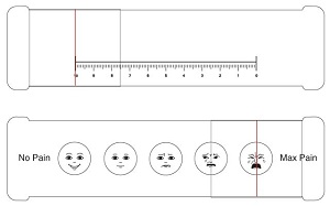 Pain Scale Slide Chart