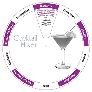 Cocktail Mixer Data Disc