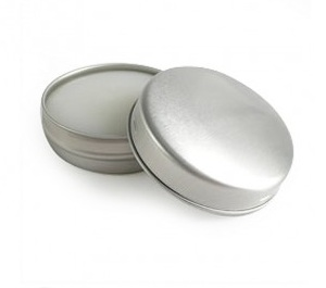 10ml Natural Vanilla / Chocolate Lip Balm Tin