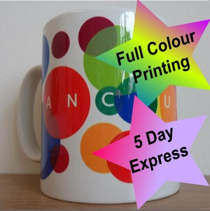 Durham Dye Sublimation Ceramic Mug