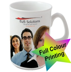 Lincoln Dye Sublimation Ceramic Mug