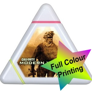 Triangular Highlighter (Full Colour Print)
