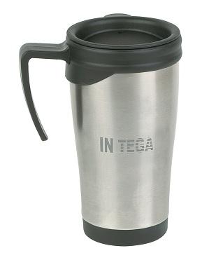 travel mug express corporate promotional products delivered fast. Black Bedroom Furniture Sets. Home Design Ideas