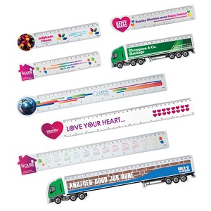 Shaped Rulers 6""