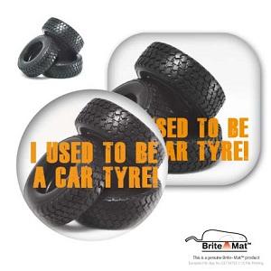 Tyre Brite-Mat™ Coaster