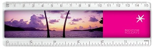 "T6A Clear/T6C Coloured 6"" Insert Ruler"
