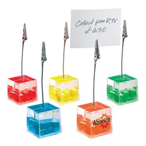 Gel Memo Cube