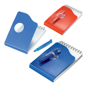 Spiral Note Pad and Pen