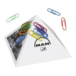 Paper Clip Pyramid