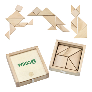 Enigma Wooden Tangram