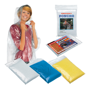 Emergency Poncho (Digitally printed insert)
